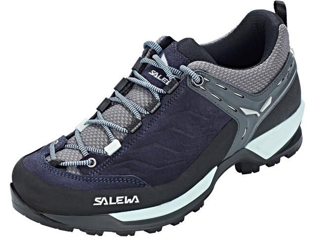Salewa MTN Trainer Shoes Women Premium Navy/Subtle Green